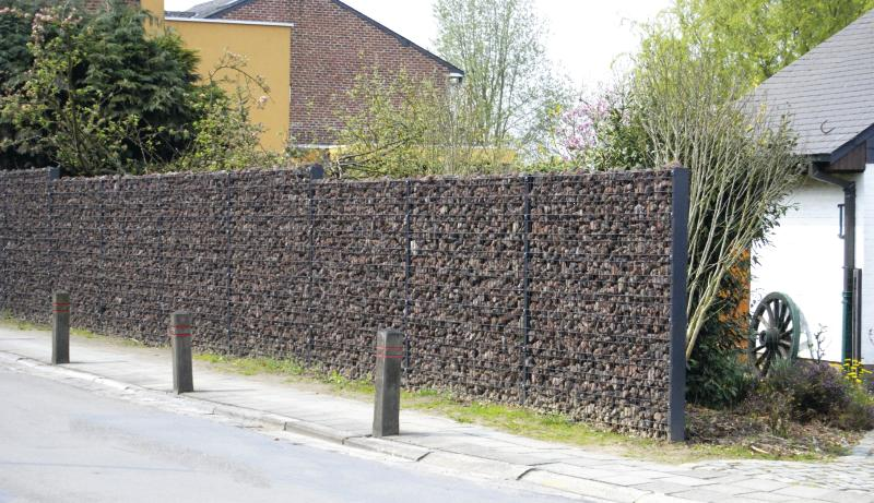 Zenturo gabionu sienas montāža paša spēkiem