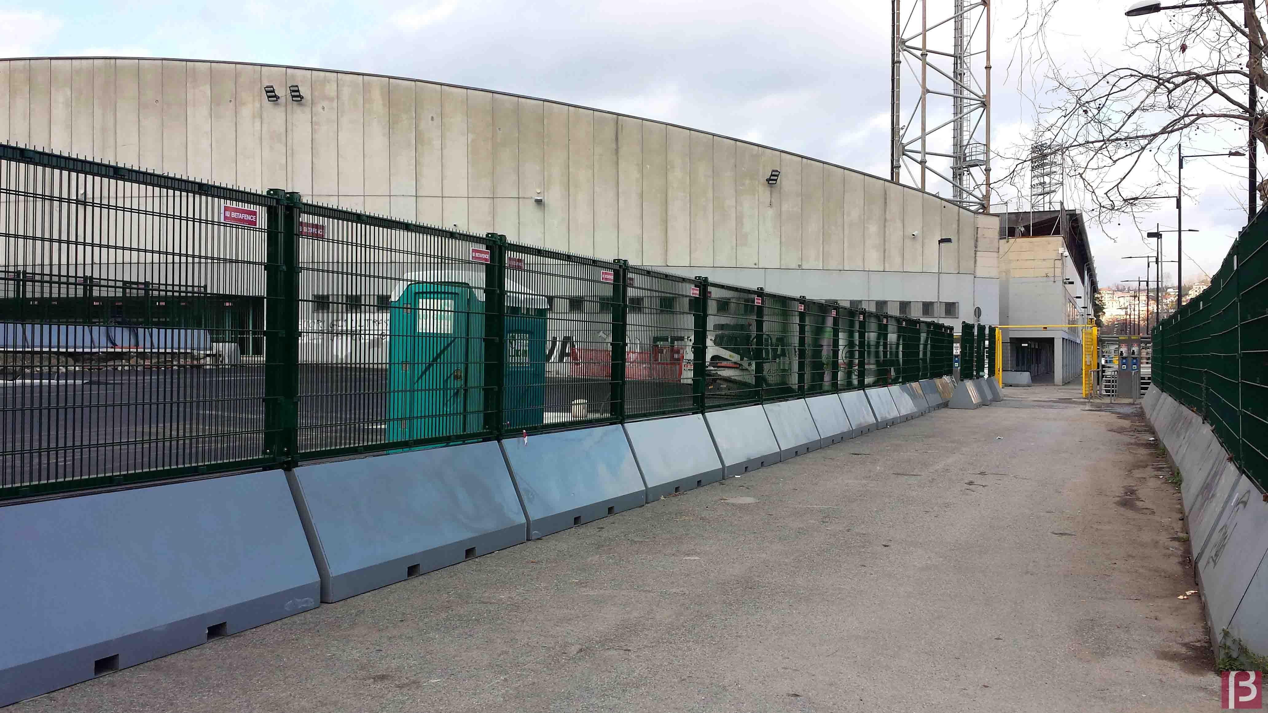 Publifor žogu sistēma aizsargās La Spezia stadionu