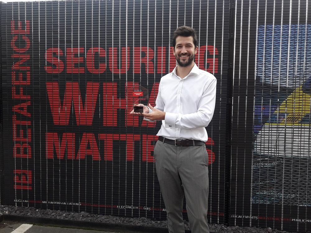Betafence apbalvots kā labākais žogu uzņēmums: 2017 Build būvniecības balva