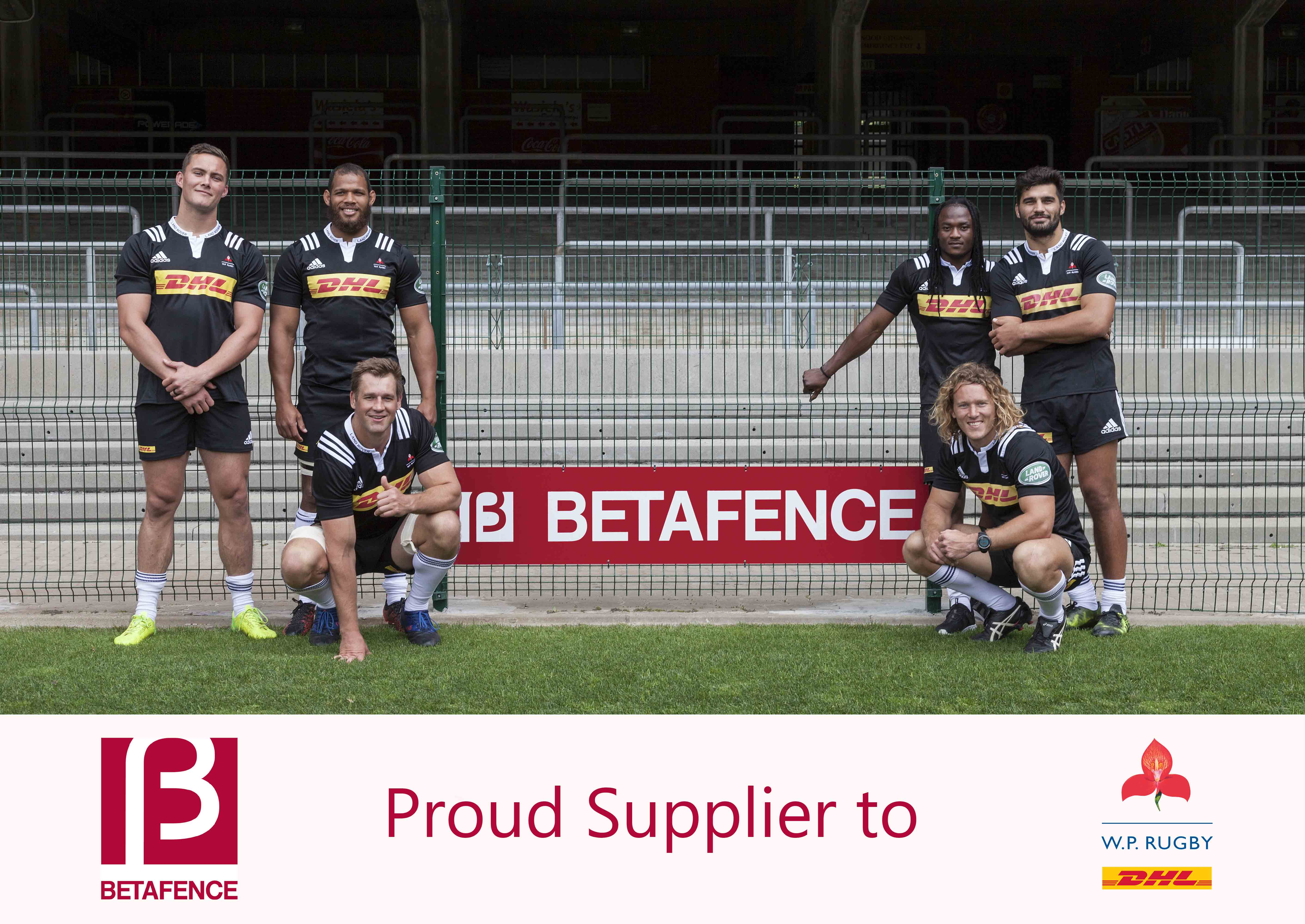 """Betafence Dienvidāfrikā kļūst par """"WP Rugby"""" oficiālo partneri"""